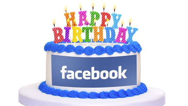С Днём рождения (Фейсбук)