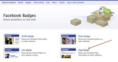 Facebook Badges